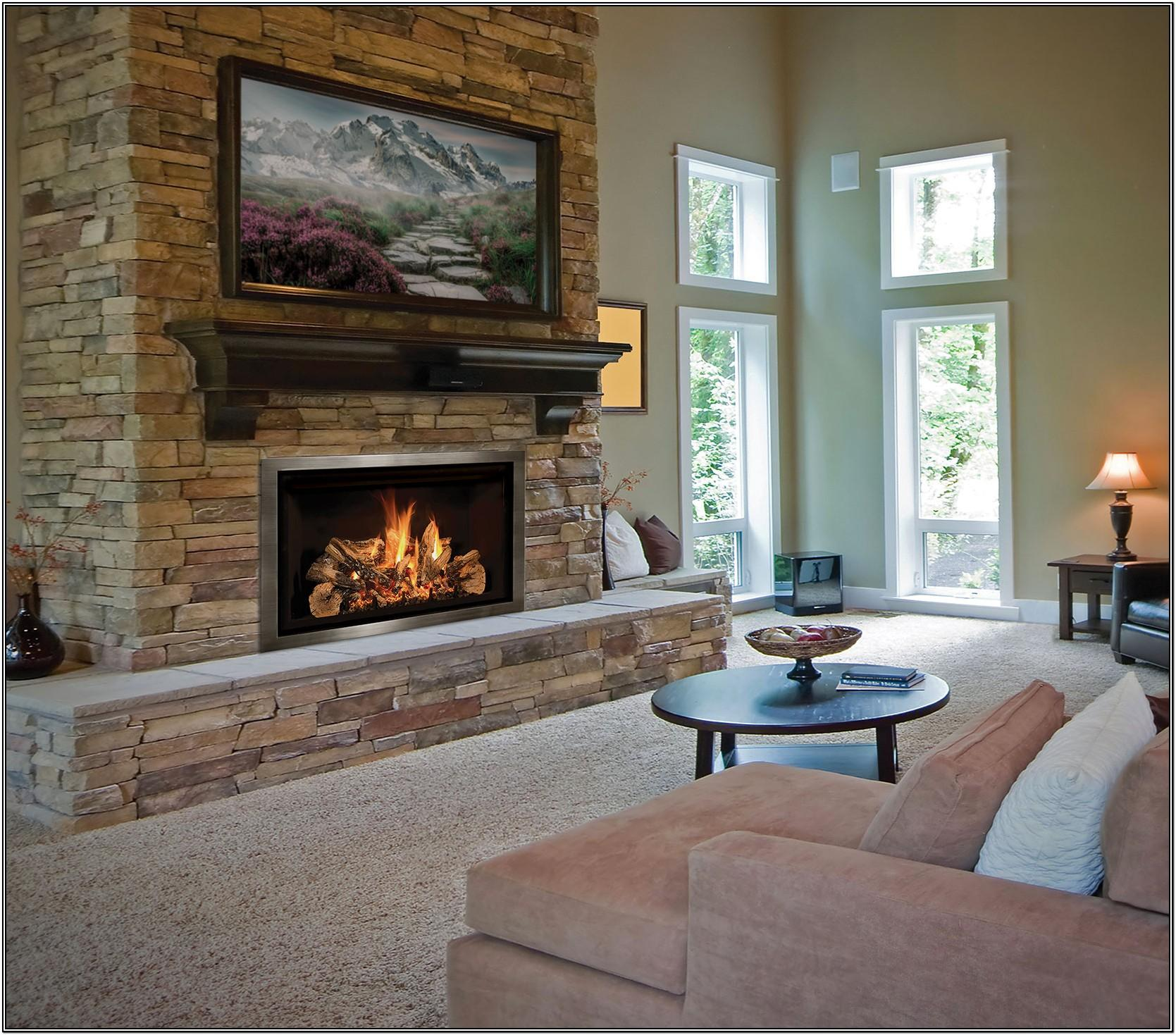 Gas Fireplace Ideas For Living Room