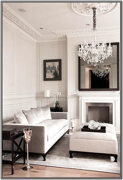 Glam Chandelier For Living Room
