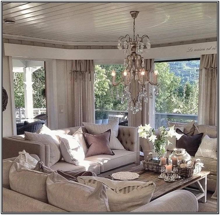 Glam Decor Living Room