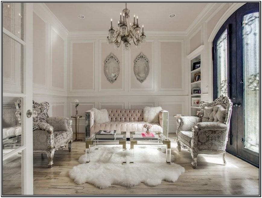 Glamorous Glam Living Room Decor