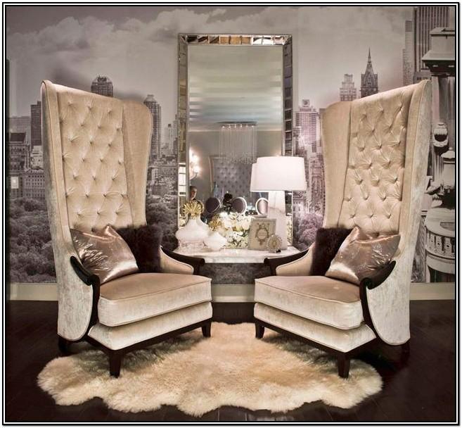 Glamorous Living Rooms Designs