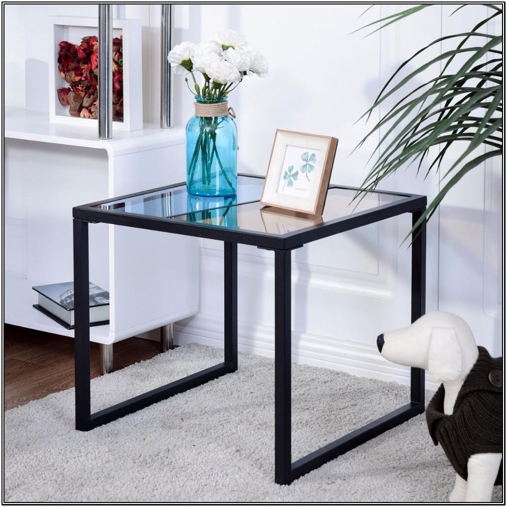 Glass And Metal Living Room Tables