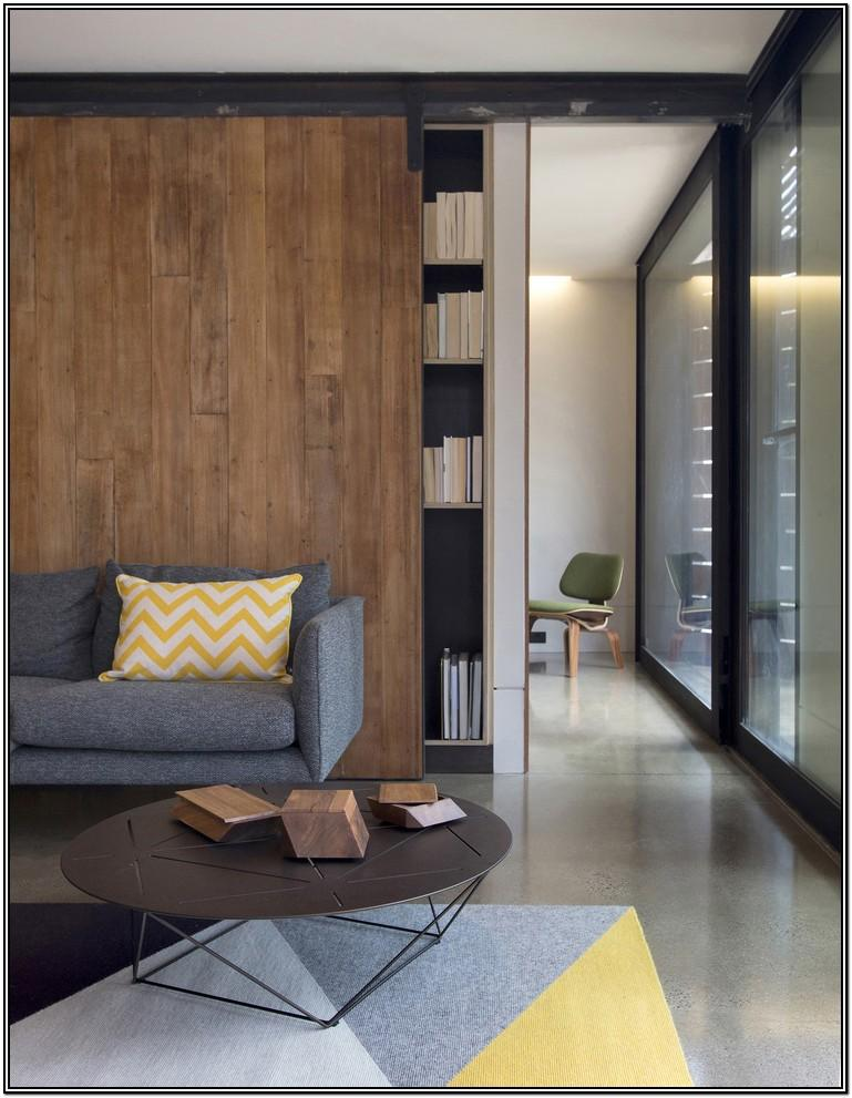 Glass Living Room Sliding Doors Interior