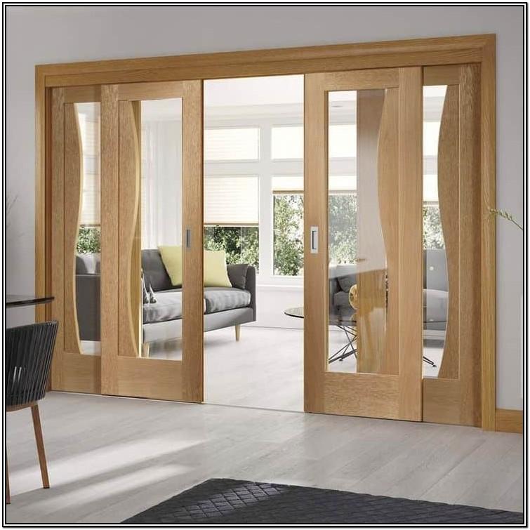 Glass Sliding Door Designs For Living Room