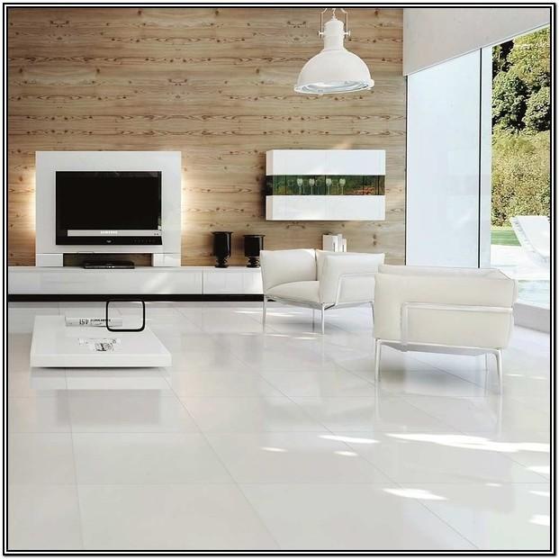 Glossy Tiles For Living Room