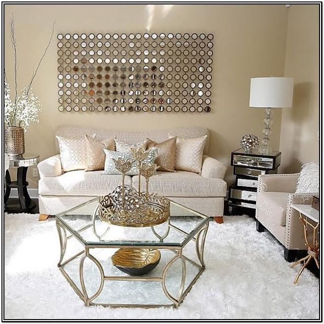 Gold Accent Pieces For Living Room