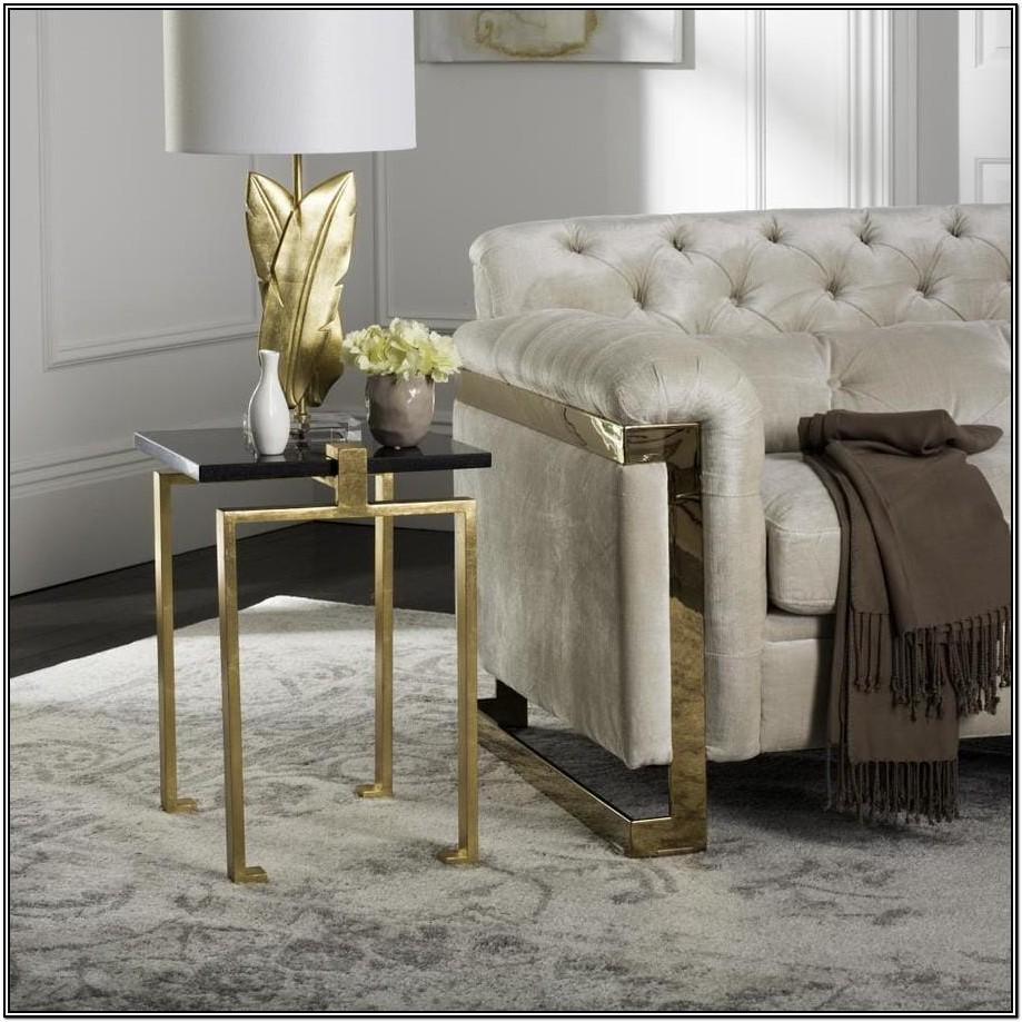Gold Side Tables For Living Room