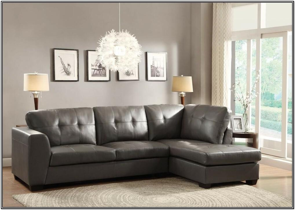 Gray Leather Living Room Furniture