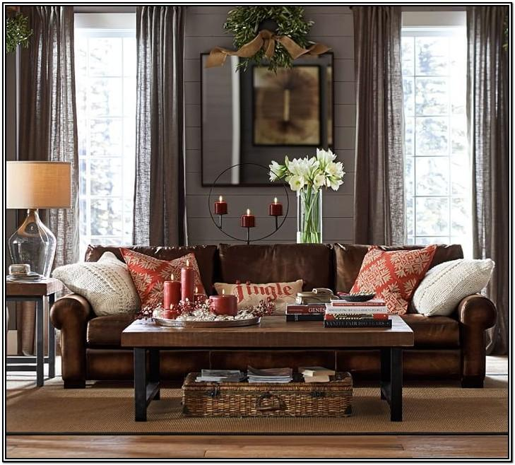 Gray Leather Sectional Living Room Ideas