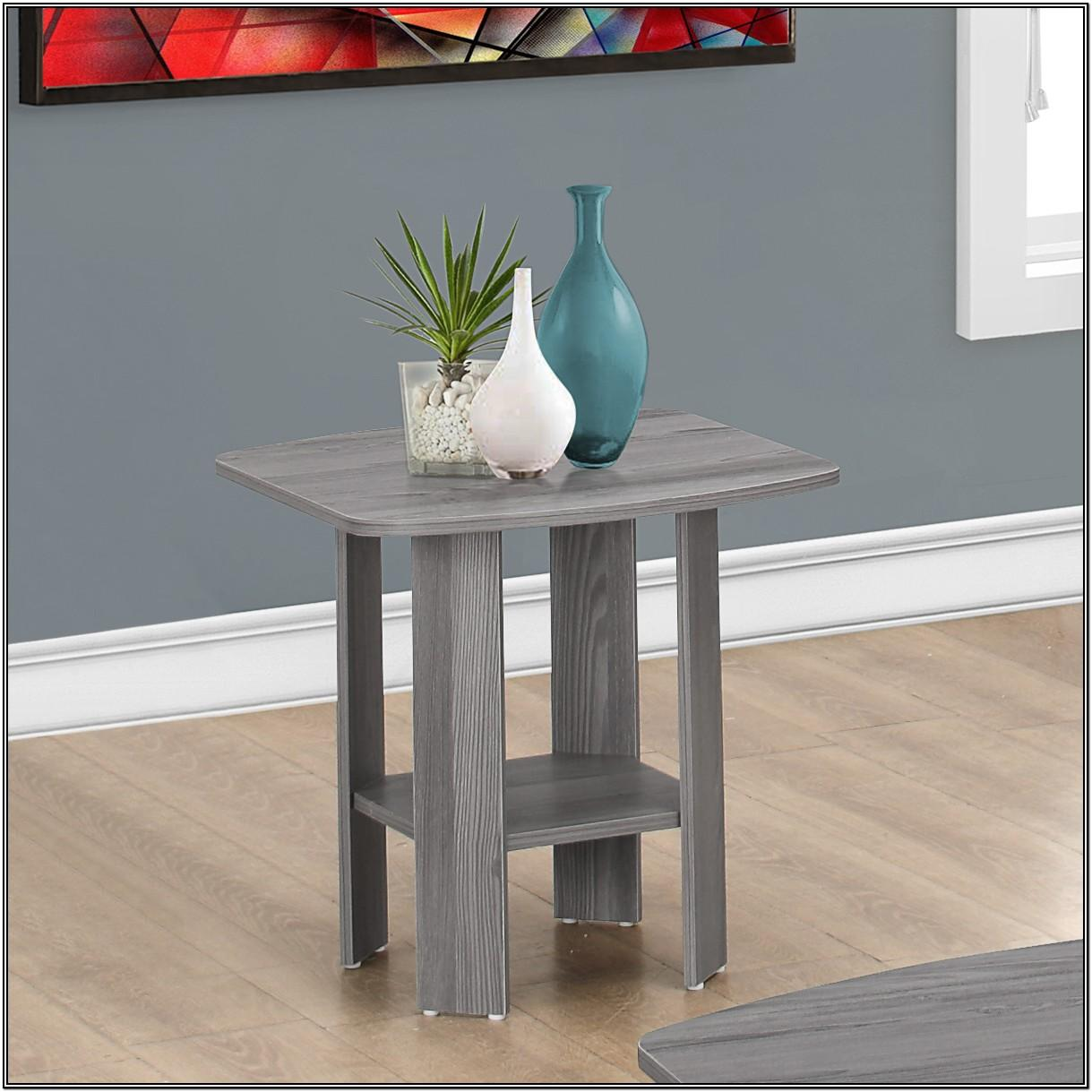 Gray Living Room Table Sets