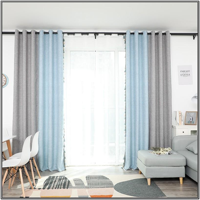 Gray Valances For Living Room
