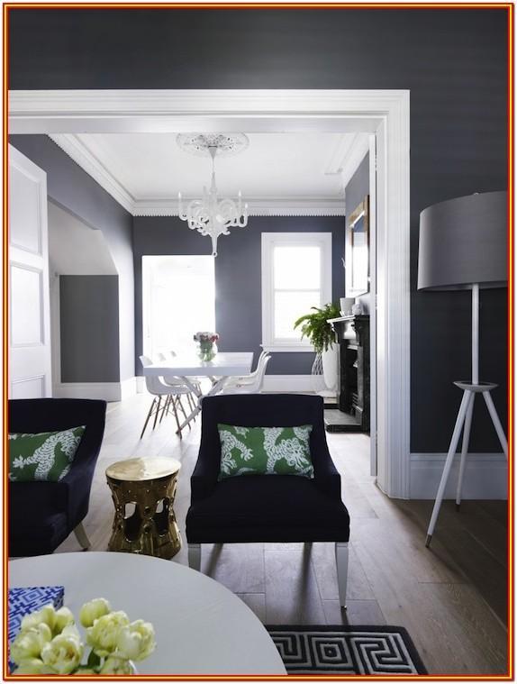 Grayish Blue Living Room Blue Grey Paint