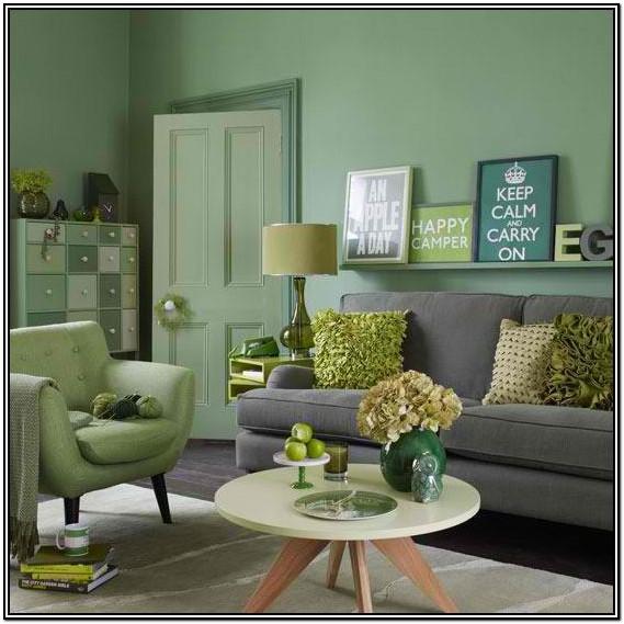 Green Color Palette For Living Room