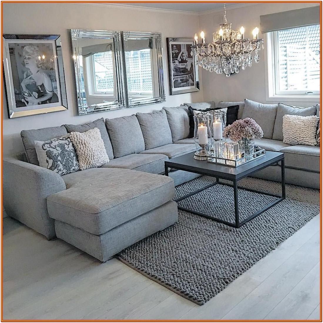 Grey And Black Sofa Living Room Ideas