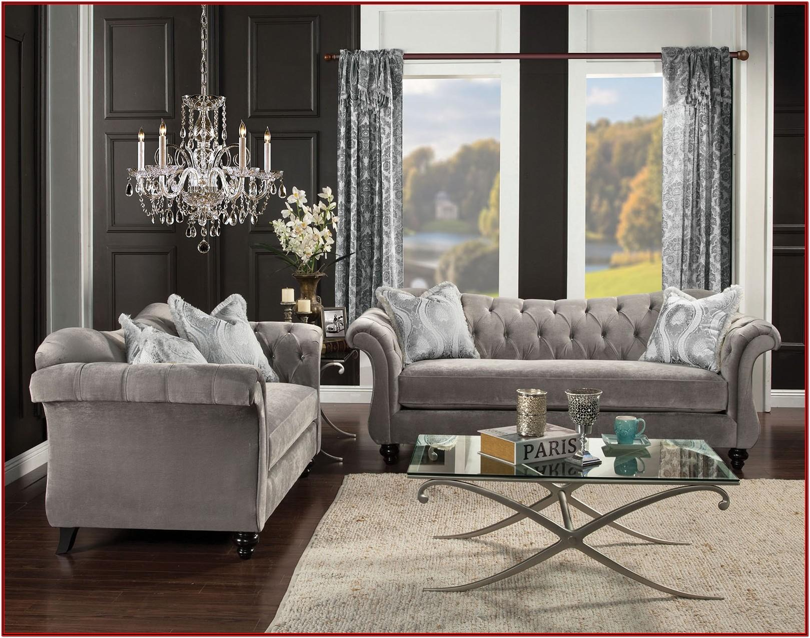 Grey Ashley Furniture Living Room Set