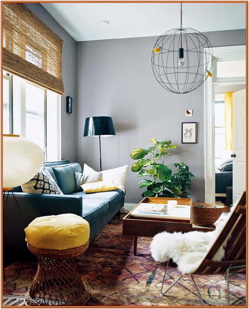 Grey Blue Living Room Paint Colors