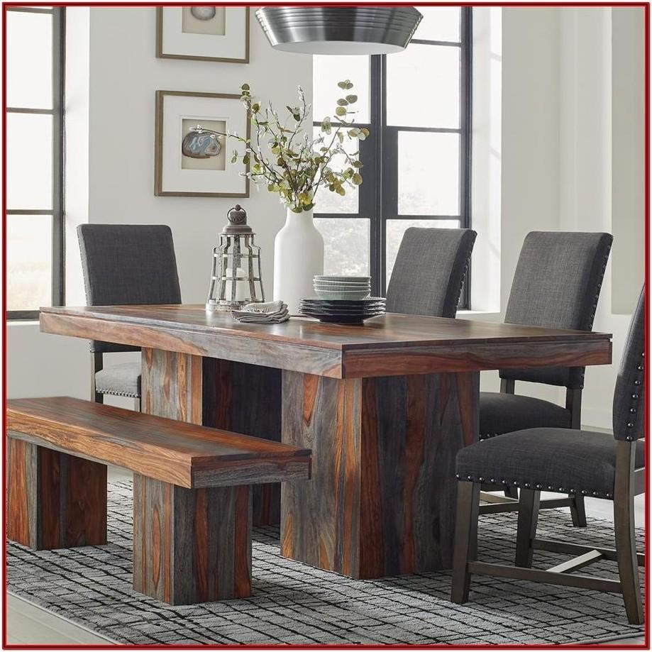 Grey Wood Living Room Furniture Set