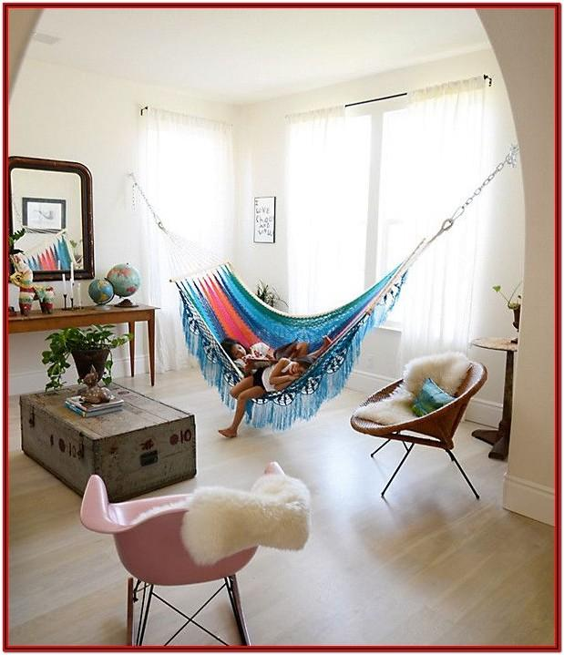 Hammock Chair With Stand Living Room
