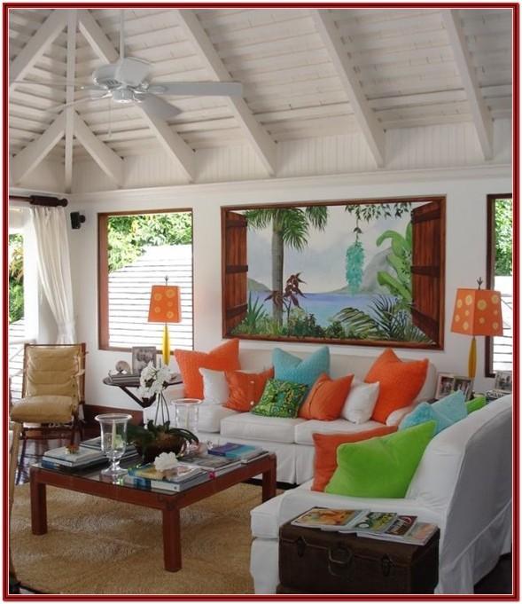 Hawaiian Living Room Decor