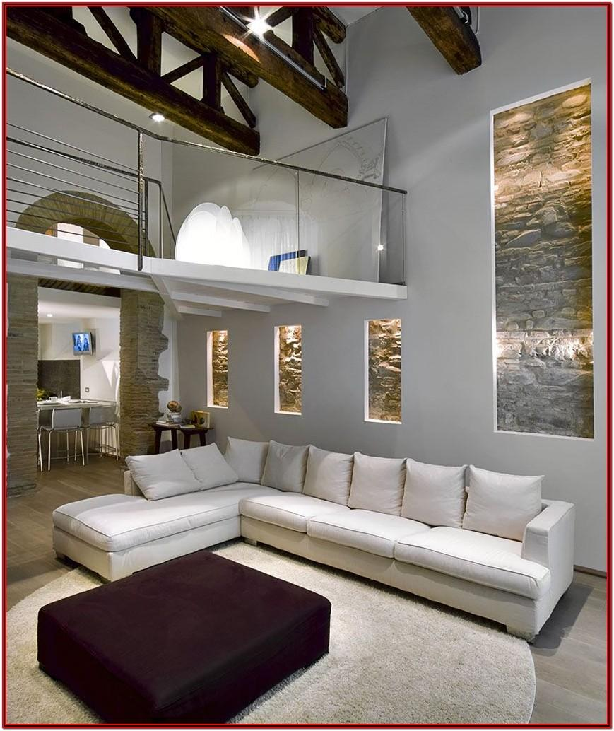 High Ceiling Living Room Paint Ideas