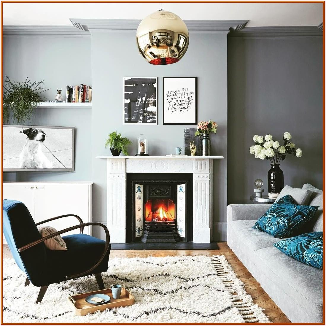 Icy Blue Blue Gray Living Room Paint Colors