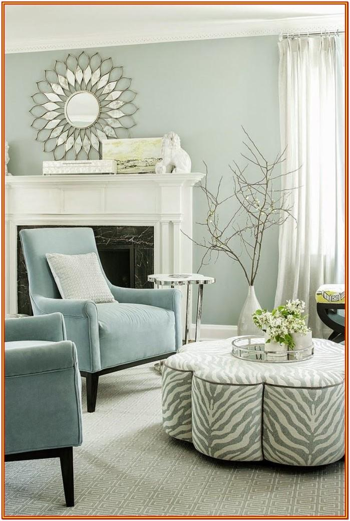 Icy Blue Grey Blue Living Room Paint Colors