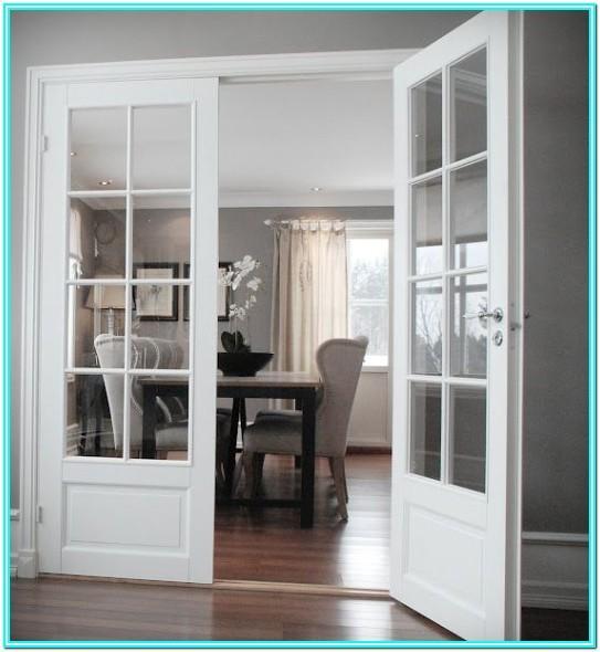 Internal Living Room Double Doors