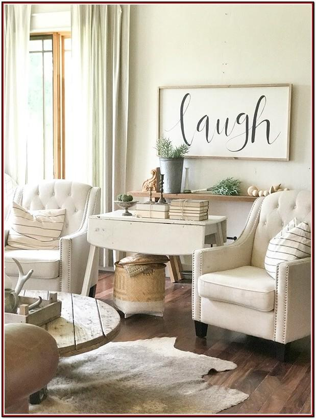 Large Farmhouse Signs For Living Room