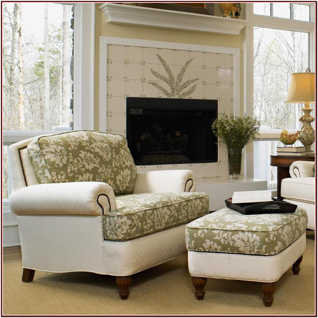 Large Living Room Chair With Ottoman