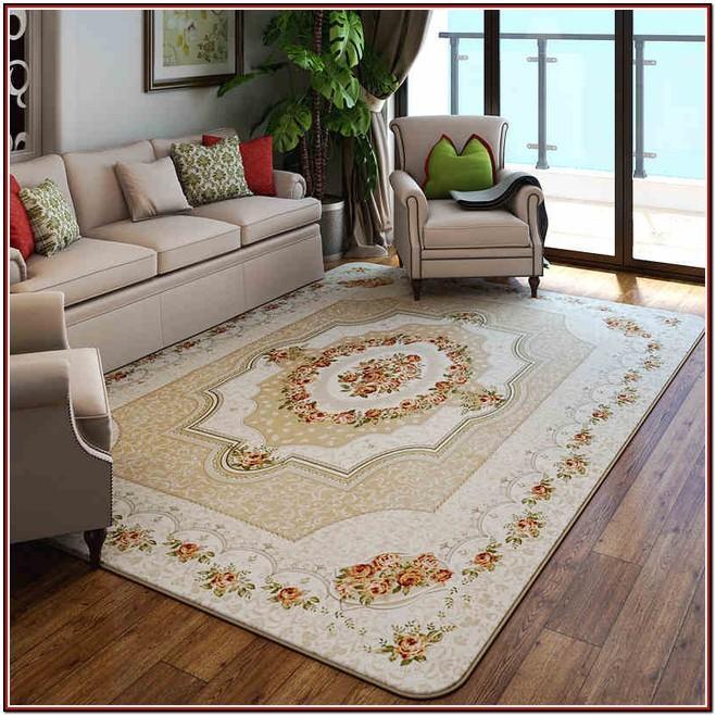 Large Living Room Rug Size