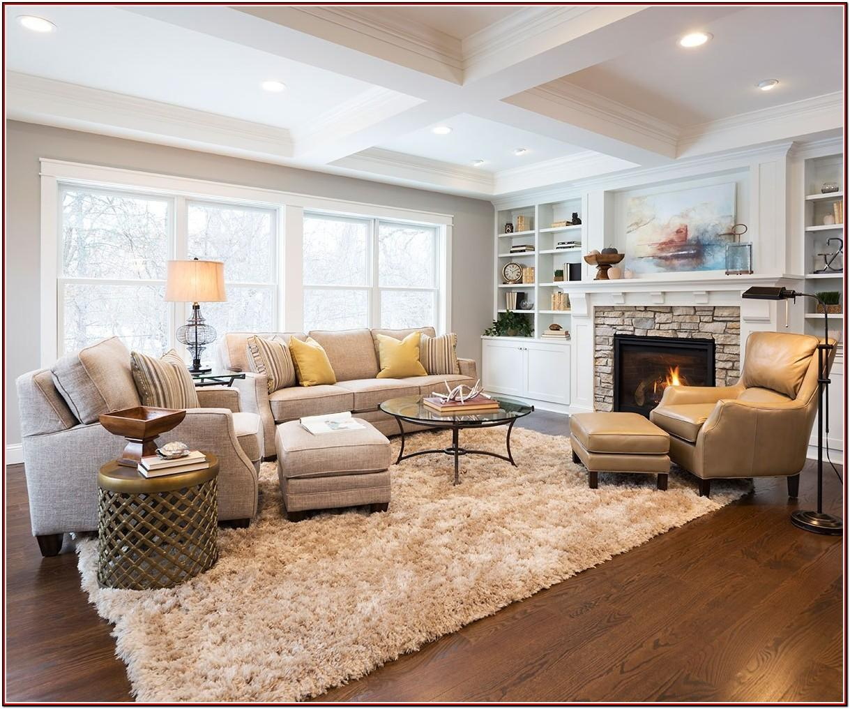 Large Living Room Setup