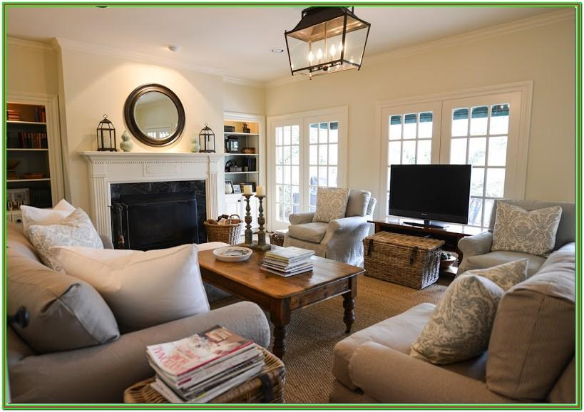 Large Rectangle Living Room Furniture Layout