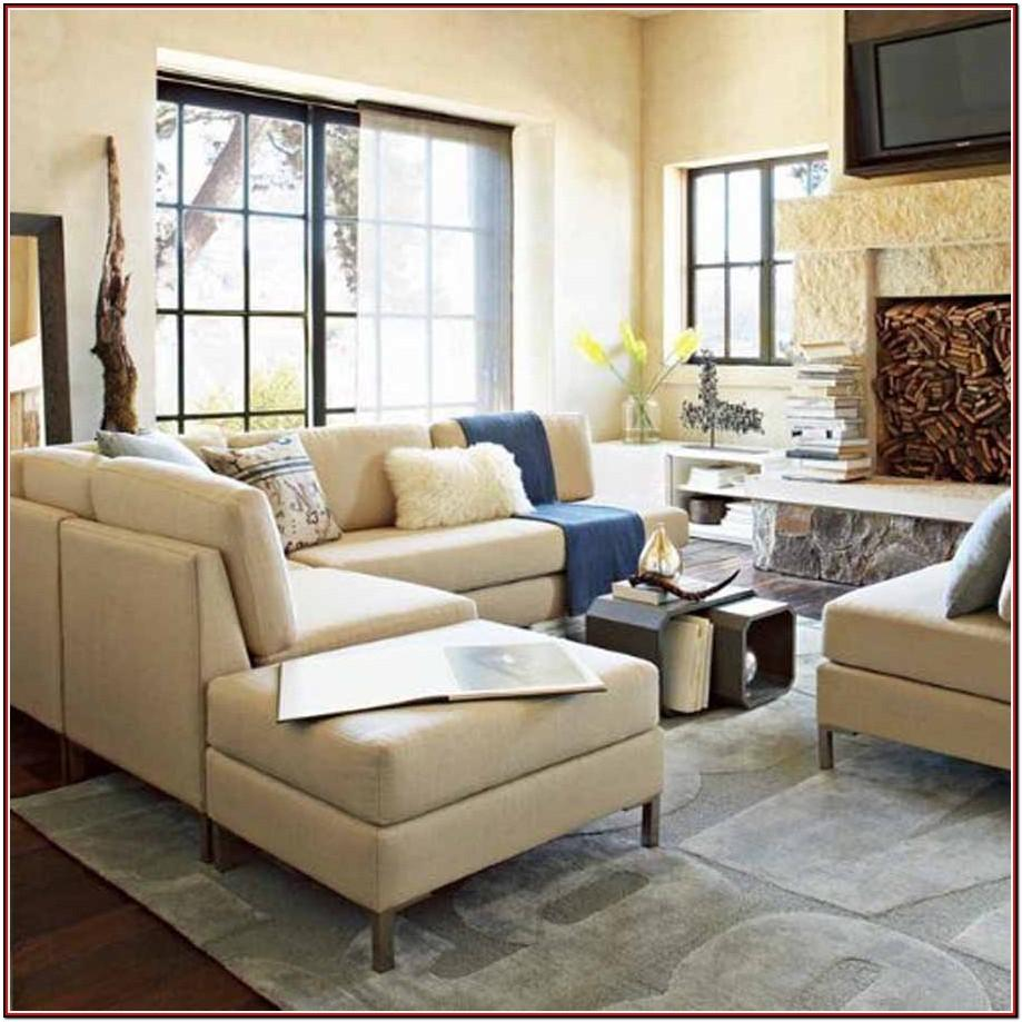 Large Sectional In Small Living Room