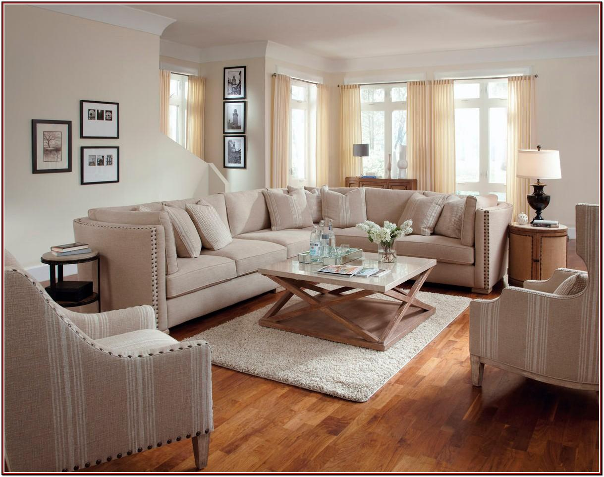Large Sectional Sofa In Small Living Room