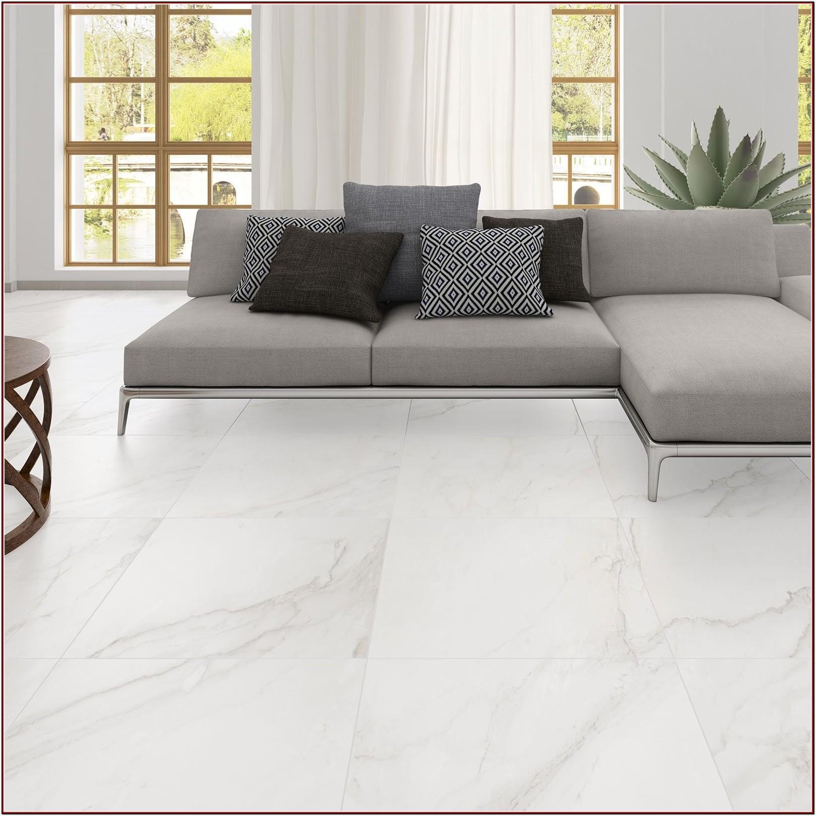 Large White Tiles For Living Room