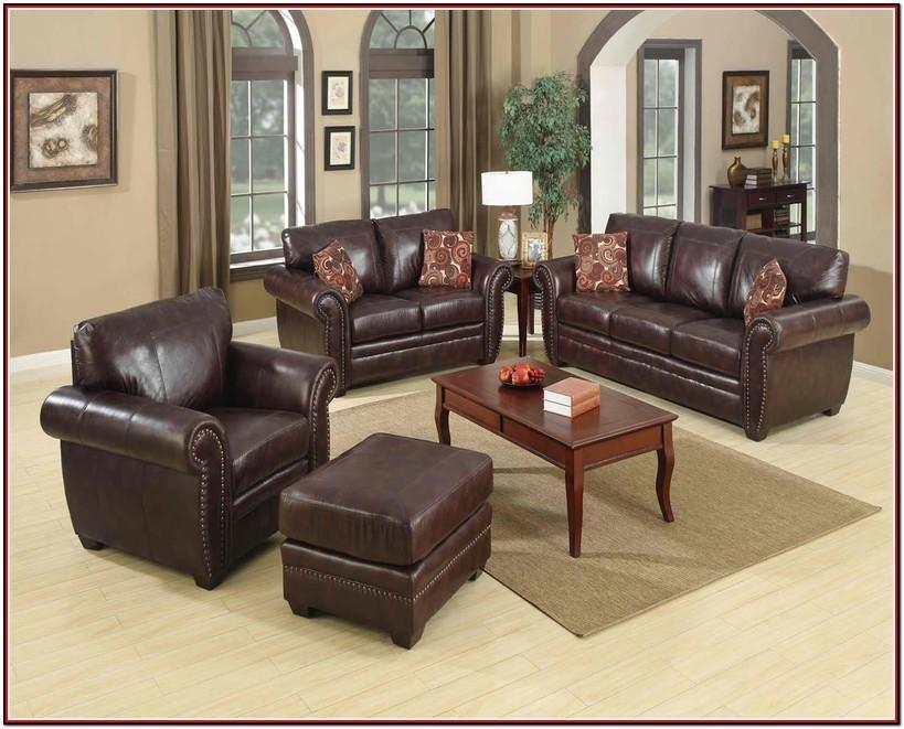 Leather Furniture Decor Living Room