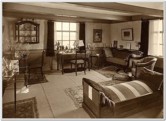 Living Room 1940s Furniture Styles