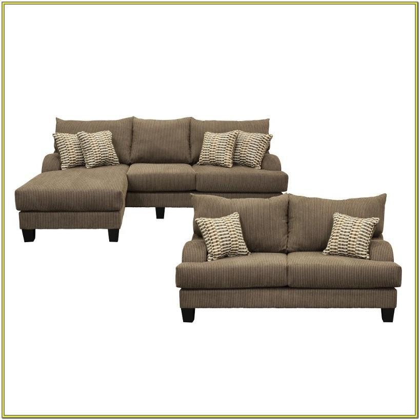 Living Room 2 Piece Sofa Set