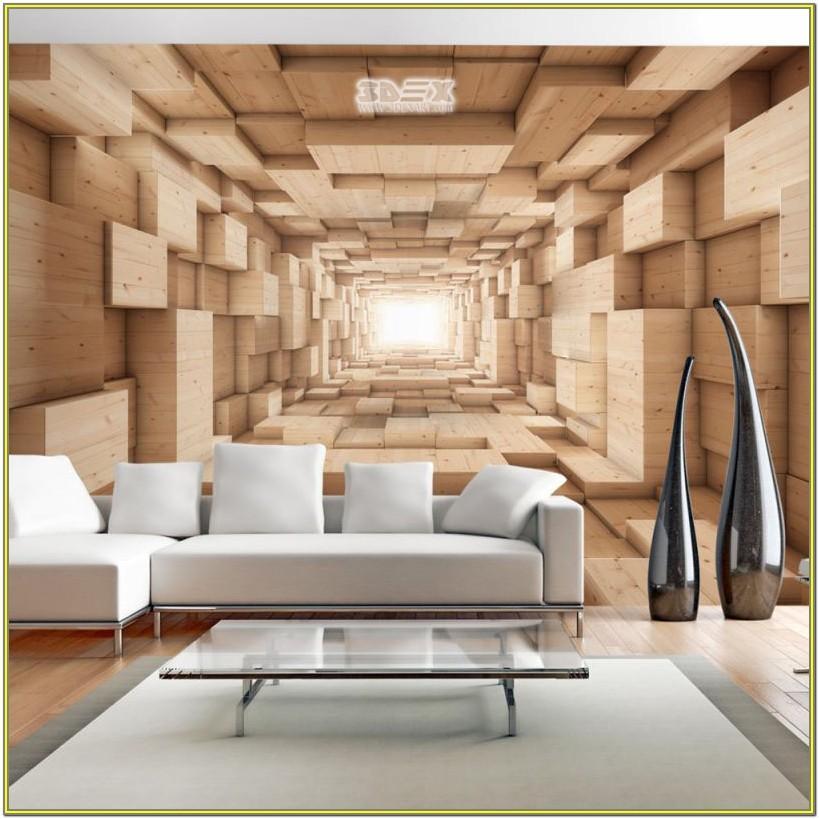 Living Room 3d Wall Paper Design