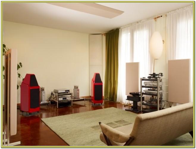 Living Room Acoustic Treatment