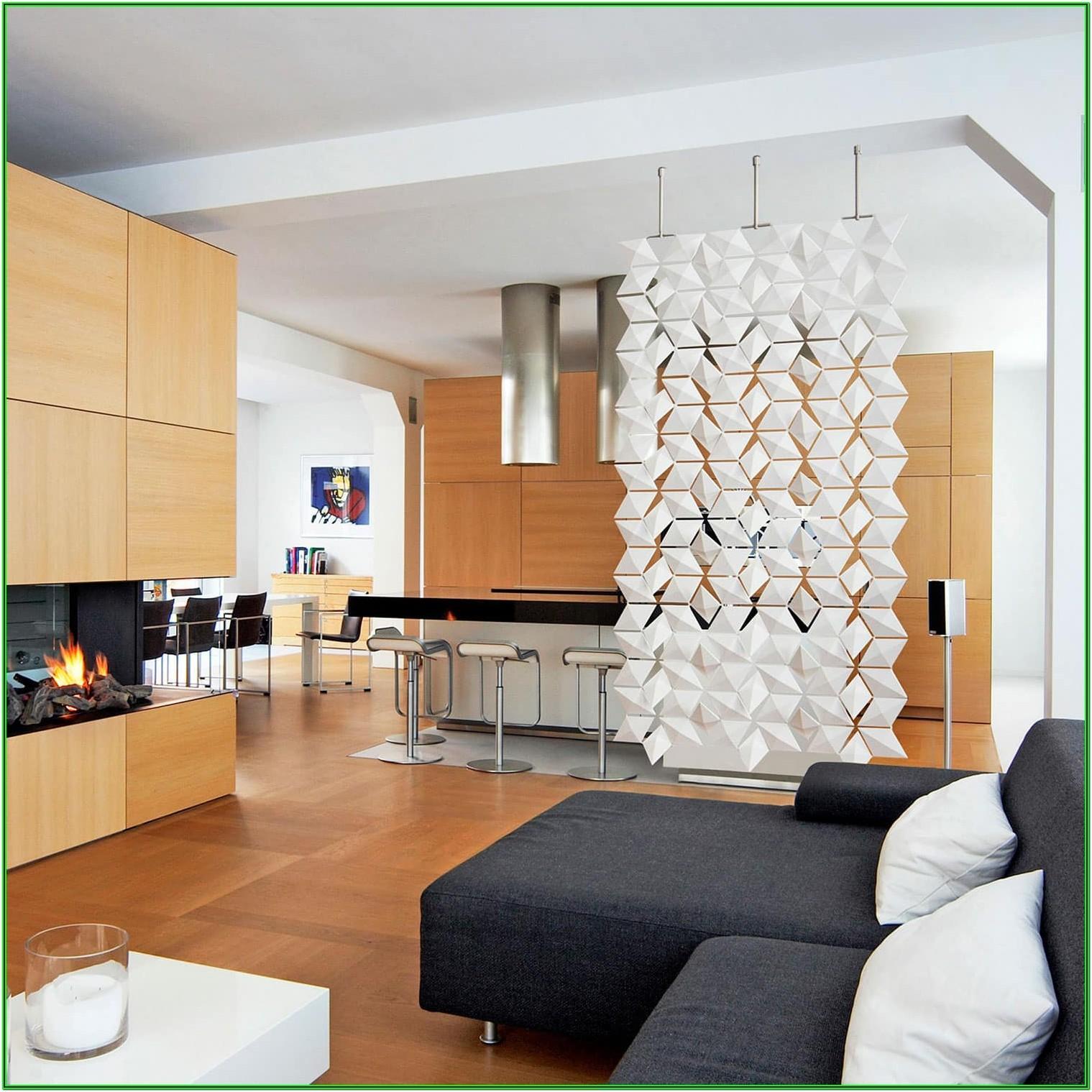 Living Room And Dining Room Divider Modern Design