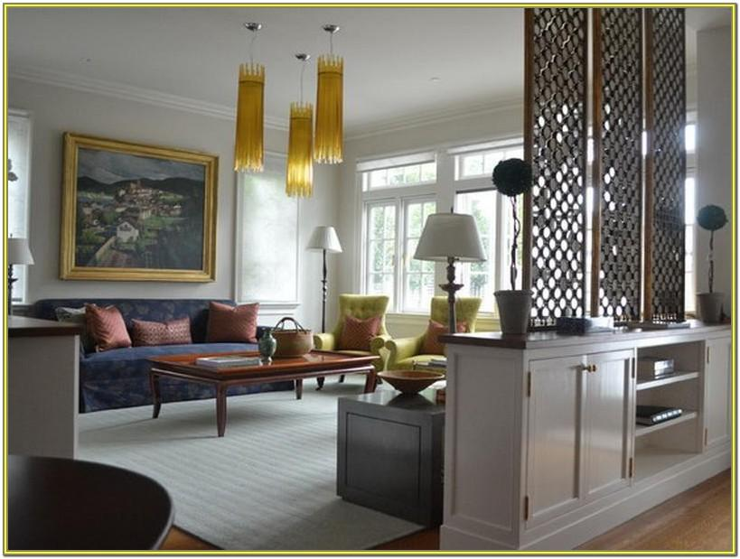 Living Room And Dining Room Partition Designs