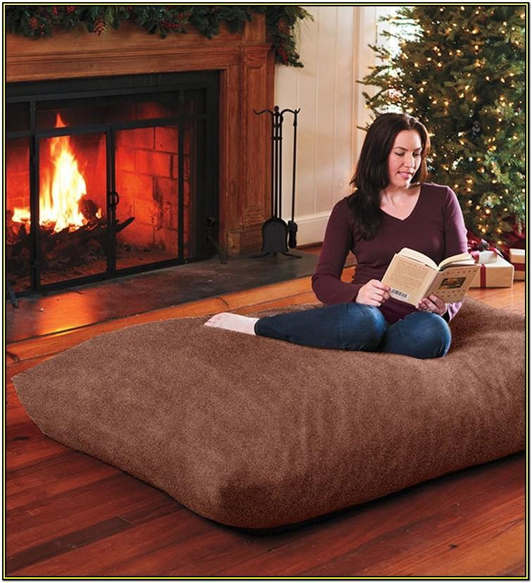 Living Room Big Floor Pillows