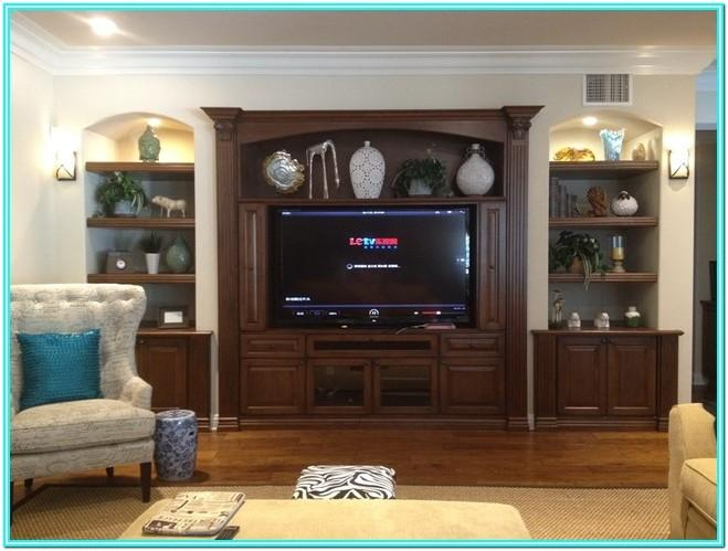 Living Room Built In Entertainment Unit