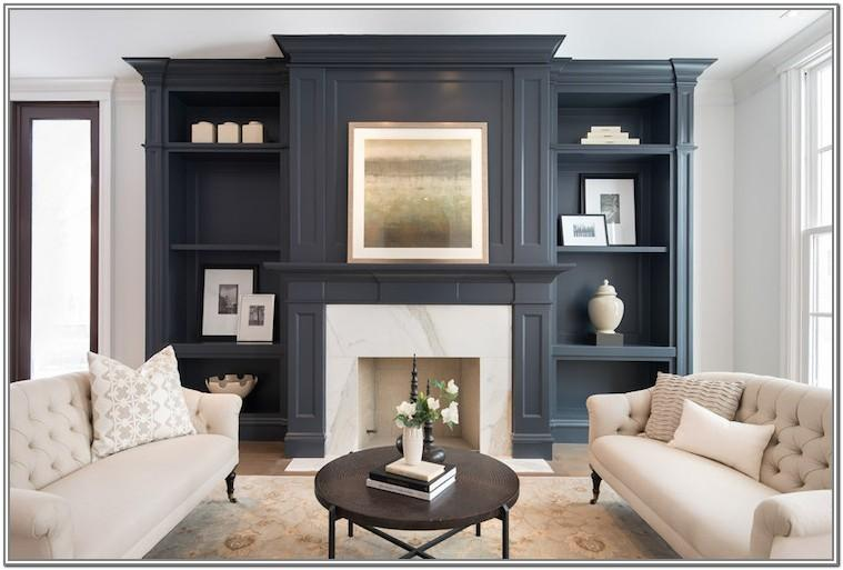Living Room Built Ins Around Fireplace