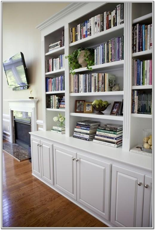 Living Room Cabinet With Shelves On Top
