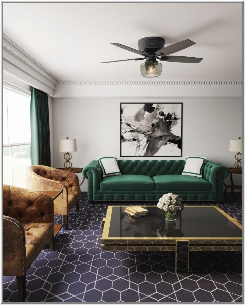 Living Room Ceiling Fan Design Ideas