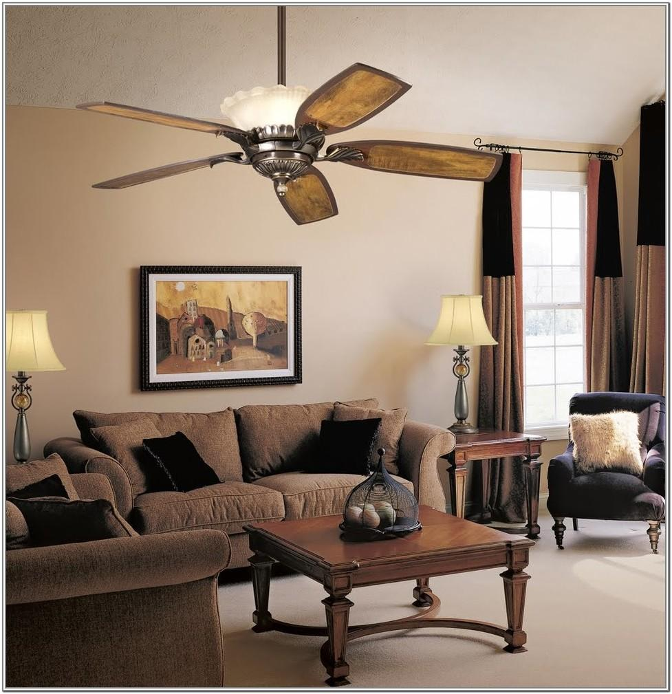 Living Room Ceiling Fans Without Lights