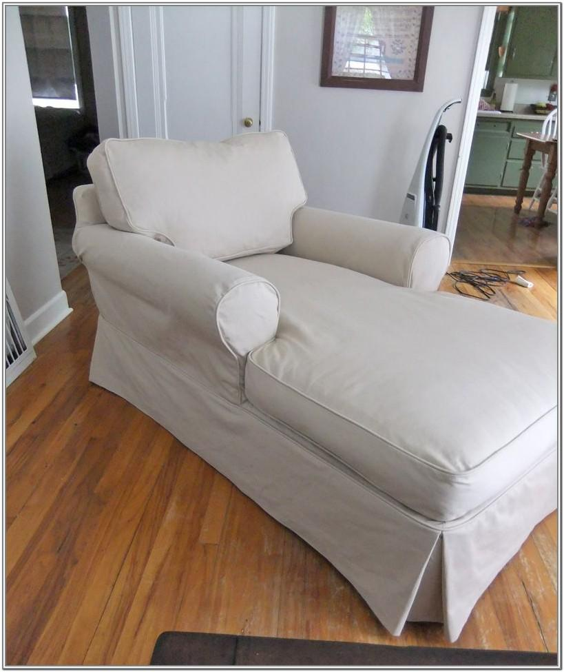 Living Room Chaise Lounge Slipcovers