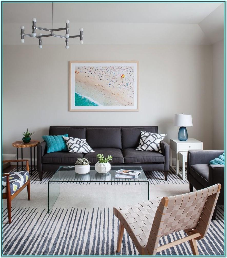 Living Room Charcoal Grey Carpet